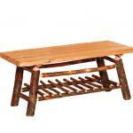 wavy edge coffee table