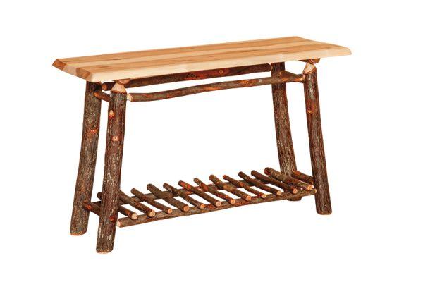 wavy edge sofa table