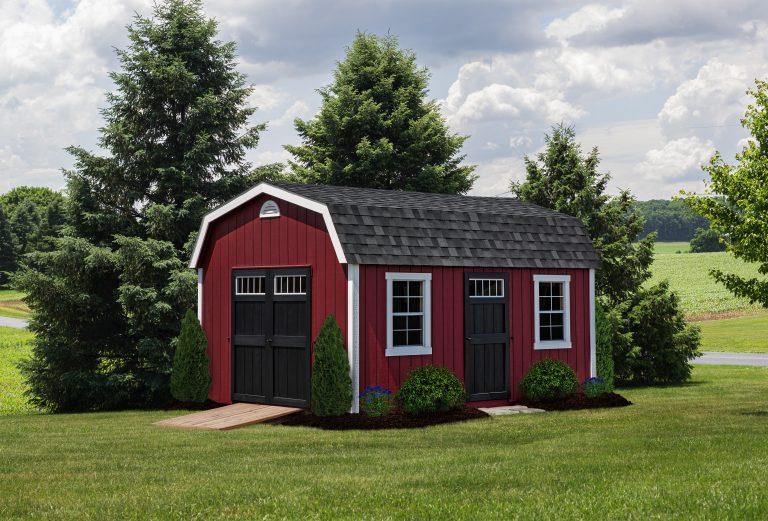 Amish Sheds Garages Furniture, Red Shed Outdoor Furniture