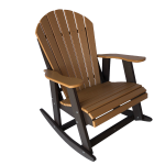 10 fanback rocking chair outdoor patio furniture