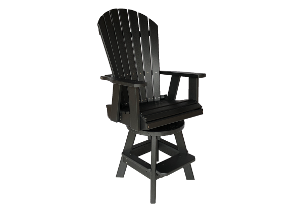 21 swivel pub chair poly furniture outdoor