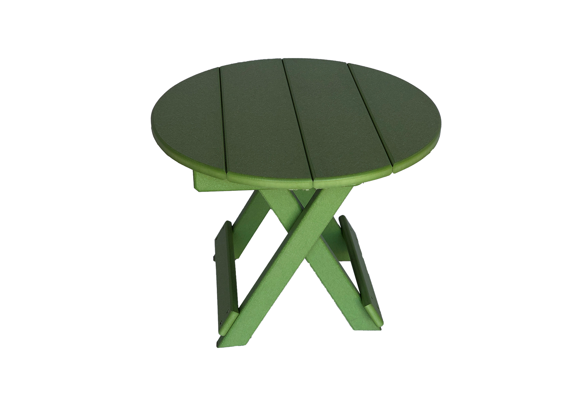 33 round folding side table for outdoor porch furniture