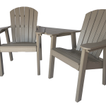 49 deck chair settee for outdoor patio furniture