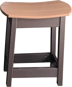 saddle stool for outdoor patio and furniture